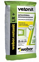 Шпаклевка VETONIT FINISH LR PLUS / ВЕТОНИТ ФИНИШ ЛР ПЛЮС (25 кг)